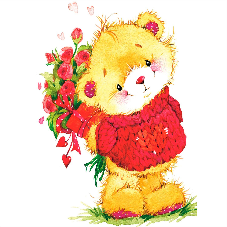 такое открытки к 8 марта с медвежатами рекомендации