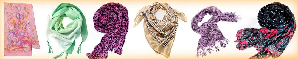 Палантины и шарфы